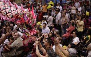 Panama's Chinese Comunity Celebrates Year of the Dragon