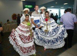 Panama celebrates its first ever 2 millionth vistor arrival last december, 2011.