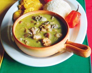 A dish of sancocho at El Trapiche