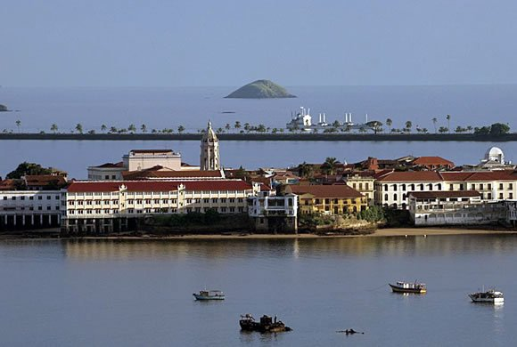 "Casco Viejo, Panamas lovely ""Old Town"" sits on the water"