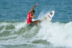 Paige Hareb shreds it up last year in Panama