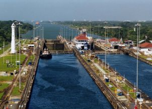 The locks of the Panama Canal are filling up faster than the tolls