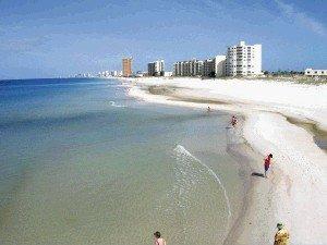 The Beautiful white sands of Playa Bonita beckon you to come yo Panama