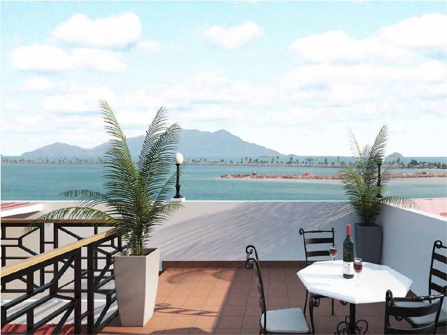 Penthouse views from Mano de Tigre into Amador Causeway