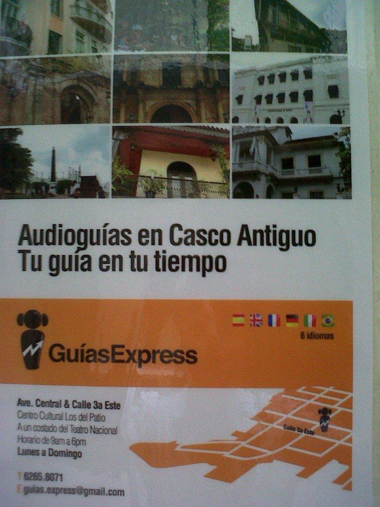 Panama Auto Tour Poster