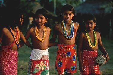 Visit the embaera tribe while in Panama
