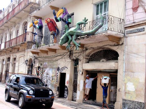With dilapidated buildings and whimsical art along the streets, Panama City's Casco Viejo neighbourhood is fascinating to explore.