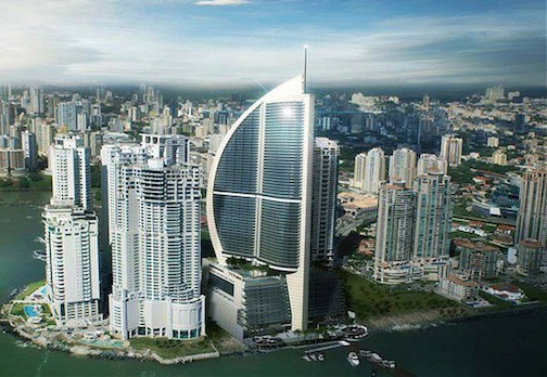Sun International to Open Casino at Trump Ocean Club in Panama pictured here glimmering in the sun