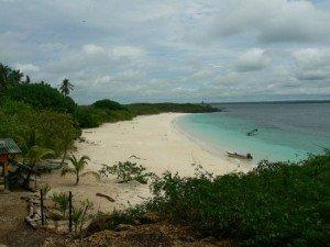 Beautiful beach in Pedasi Panama