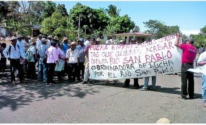 Panama Campesinos Protests