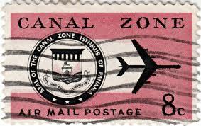 Panama Canal Zone Stamo