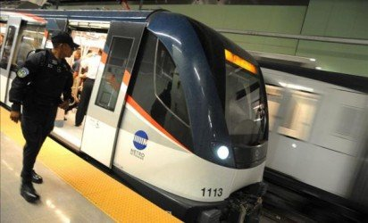 """The Spanish companies involved in construction of the Panama City metro, to be inaugurated Saturday evening, said the project was delivered in """"world record"""" time and within the budget constraints."""