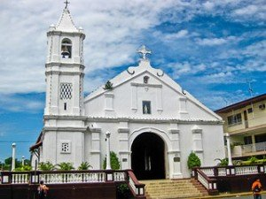Santa Librada church in Las Tablas, Panama is known for its golden alta